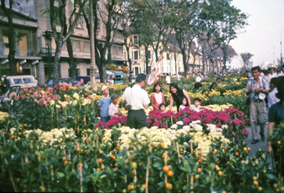 chợ hoa Nguyễn Huệ